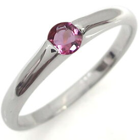 2/15限定【ポイント10倍】プラチナ 誕生石 ファランジリング 婚約指輪 一粒 エンゲージリング ピンキー