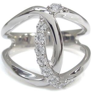 【送料無料】無限大 ダイヤモンド リング 指輪 インフィニティ K18【RCP】10P06Aug16
