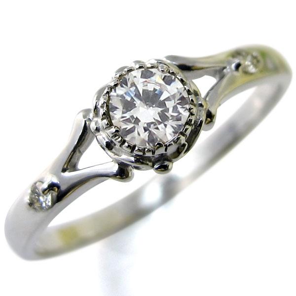 婚約指輪・プラチナ・リング・鑑定書・SIクラス・ダイヤモンド・エンゲージリング