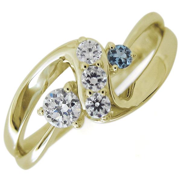 【送料無料】18金 ダイヤモンドリング インフィニティ 指輪 無限 Infinity リング【RCP】10P06Aug16