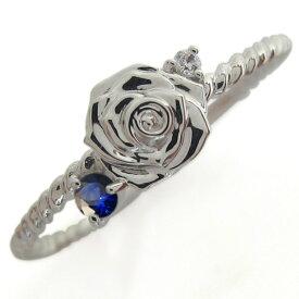 【ポイント5倍】9/19 20時~ 誕生石 ピンキーリング 薔薇モチーフ 指輪 シルバーアクセサリー