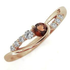 【ポイント5倍】誕生石 シンプルリング レディース 婚約指輪 K10 クリスマス プレゼント