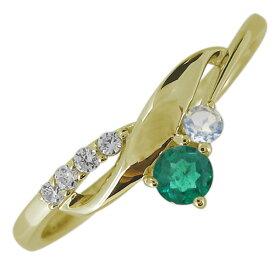 【ポイント5倍】レディース 婚約指輪 誕生石 エンゲージリング 10金