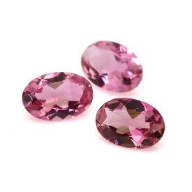 ピンクトルマリン ルース ストーン 裸石 10月誕生石 天然石 オーバル 4×6