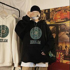 【P10倍 7/26 12:59まで】ペアルック リンクコーデ ストリート トップス 大人 おしゃれ 韓国 ファッション 韓国スタイル