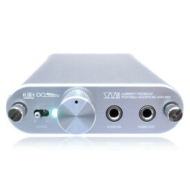 【新品】ビット・トレード・ワン 電流帰還式ポータブルヘッドホンアンプ 完成品 シルバー AD00032