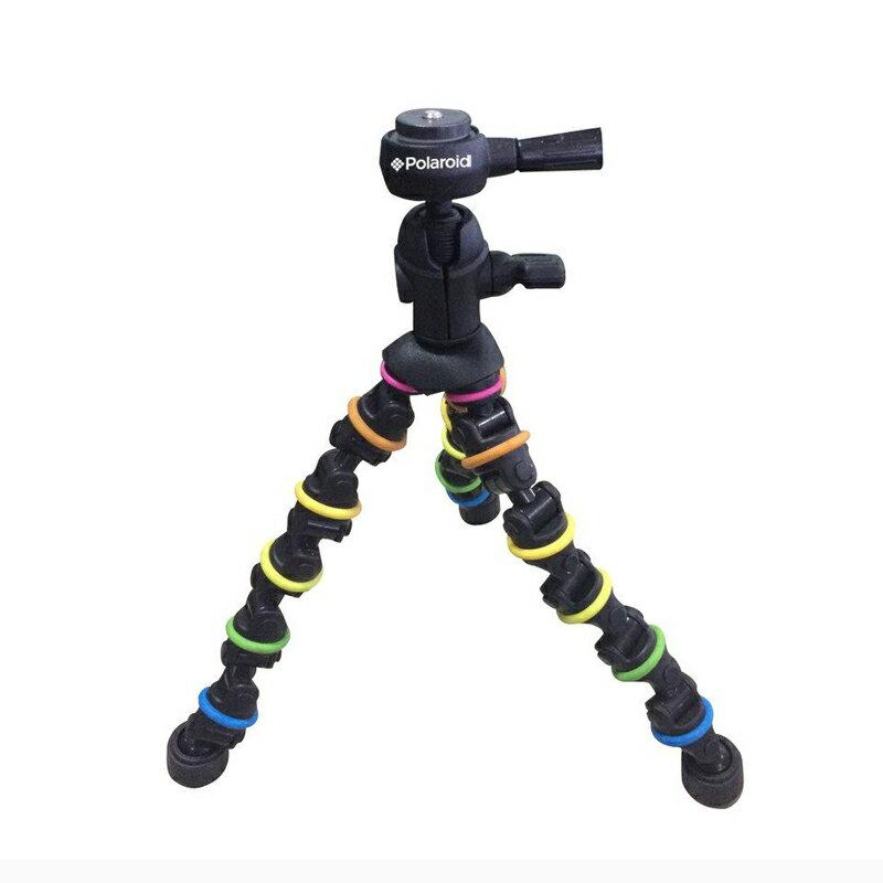 Polaroid( ポラロイド ) フレキシブル万能トライポッド PLTRISWC ( PLTRISWC ) 軽量コンパクト三脚 ボールヘッド搭載 角度調整が自由自在