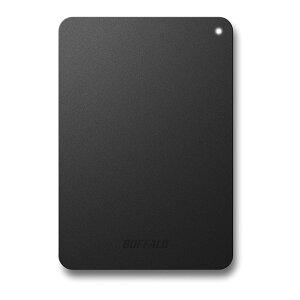 Buffalo(バッファロー)HD-PNFU3-Dシリーズ(HD-PNF500U3-WD)外付けハードディスクポータブルHDD500GBUSBバスパワーブラック