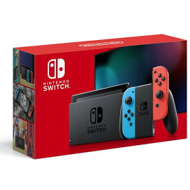 【新品】【あす楽】任天堂 ニンテンドースイッチ 新モデル Nintendo Switch 本体 ネオンブルー ネオンレッド HAD-S-KABAA 【送料無料】