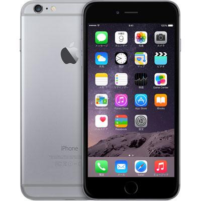 アップル iPhone 6 SIMフリー 16GB 整備済品 スペースグレー