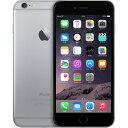 アップル iPhone 6 SIMフリー 16GB 正規 整備済品 スペースグレー