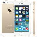アップル iPhone 5s SIMフリー 版 16GB 正規 整備済品 ゴールド