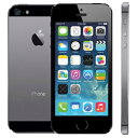 アップル iPhone 5s SIMフリー 版 16GB 正規 整備済品 スペースグレー