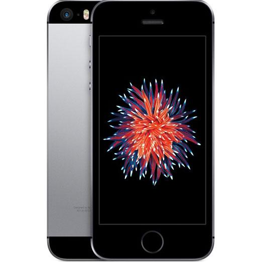 アップル iPhone SE SIMフリー 版 16GB 整備済品 スペースグレー