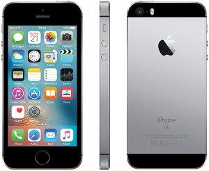 アップルiPhoneSESIMフリー版32GB正規整備済品スペースグレー