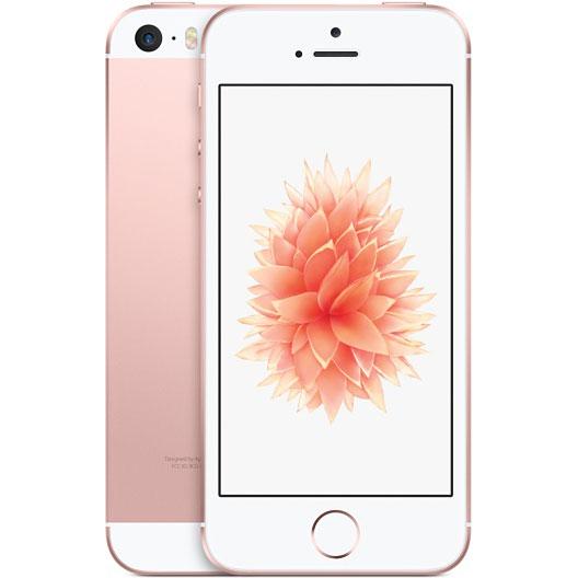 アップル iPhone SE SIMフリー 版 16GB 整備済品 ローズゴールド