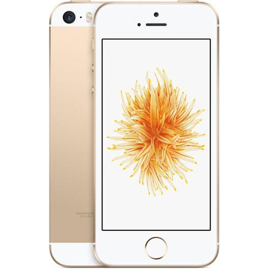 アップル iPhone SE SIMフリー 版 16GB 整備済品 ゴールド