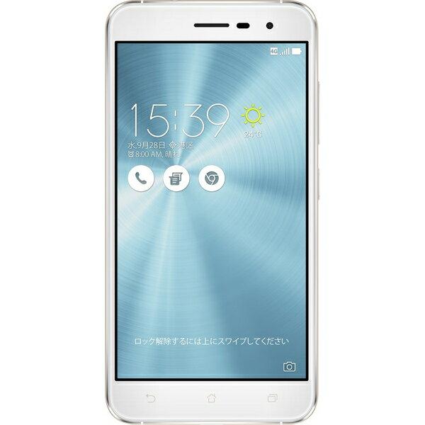 ASUS(エイスース) ZenFone 3 SIMフリースマートフォン パールホワイト ( ZE520KL-WH32S3 ) Android オクタコア 5.2インチ メモリ 3GB ストレージ 32GB
