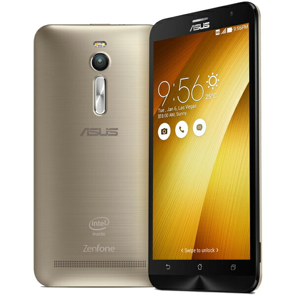 ASUS(エイスース) ZenFone 2 SIMフリースマートフォン ゴールド ( ZE551ML-GD32S4 ) Android Atom Quad Core Z3580 5.5インチ メモリ 4GB ストレージ 32GB