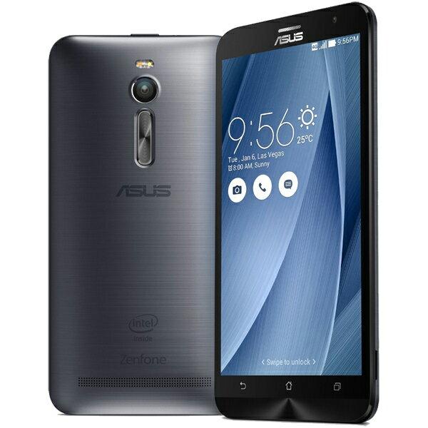 ASUS(エイスース) ZenFone 2 SIMフリースマートフォン グレー ( ZE551ML-GY32S4 ) Android Atom Quad Core Z3580 5.5インチ メモリ 4GB ストレージ 32GB