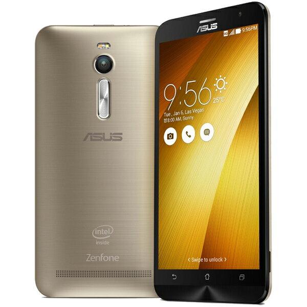 ASUS(エイスース) ZenFone 2 SIMフリースマートフォン ゴールド ( ZE551ML-GD64S4 ) Android Atom Quad Core Z3580 5.5インチ メモリ 4GB ストレージ 64GB
