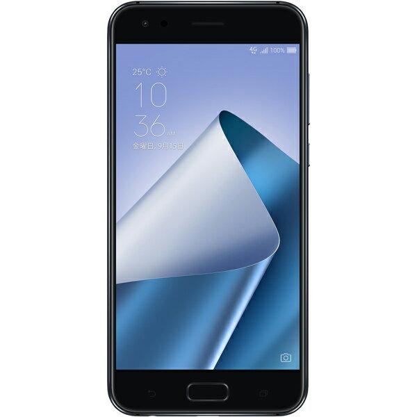 ASUS(エイスース) ZenFone 4 SIMフリースマートフォン ミッドナイトブラック ( ZE554KL-BK64S6 ) Android オクタコア 5.5インチ メモリ 6GB ストレージ 64GB