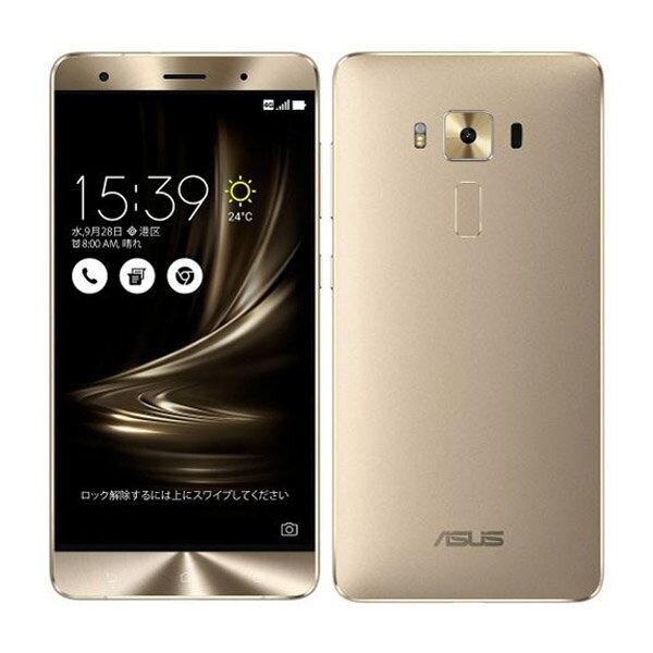 ASUS ( エイスース ) ZenFone 3 Deluxe SIMフリースマートフォン ゴールド ( ZS570KL-GD256S6 ) Android6.0.1 クアッドコア 5.7インチ ( フルHD ) メモリ 6GB ストレージ 256GB