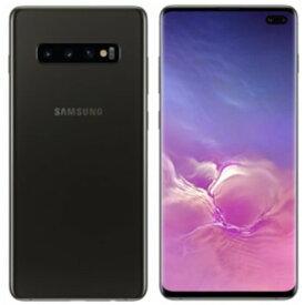 Samsung ( サムスン ) Galaxy S10+ SIMフリー 512GB 整備済み品 デュアルSIM Dual SIM セラミックブラック スマホ スマートフォン 本体 ギャラクシー