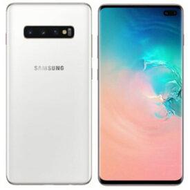 Samsung ( サムスン ) Galaxy S10+ SIMフリー 512GB 整備済み品 デュアルSIM Dual SIM セラミックホワイト スマホ スマートフォン 本体 ギャラクシー