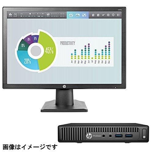 HP(ヒューレットパッカード) ProDesk 400 G2 Desktop Mini PC ( M2V15AV-BKKC ) Windows 10 Core i3-6100T メモリ 8GB HDD 500GB Office付き 19.5インチワイドIPSモニターセット