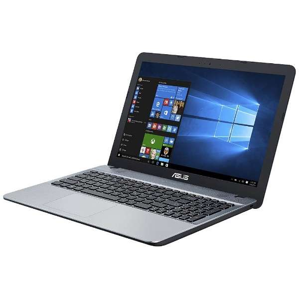 ASUS(エイスース) VivoBook F541SA シルバーグラディエント ( F541SA-XX244TS ) Windows10 15.6インチ Celeron メモリ 4GB HDD 500GB DVDマルチ 無線LAN Webカメラ Microsoft Office Home and Business