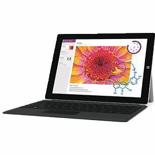 【新品】Microsoft Surface 3 ( NR9-00001 ) Windows8.1 Proモデル Windows 8.1 Pro 10.8インチ Atom X7-Z8700 メモリ 4GB SSD 64GB 無線LAN タッチパネル 多言語版 純正専用キーボードセット マイクロソフト