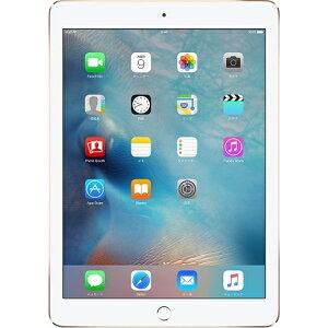 【SIMロック解除済み】アップルiPadAir2A156732GBゴールド(MNVR2J/A)【厳選中古】タブレットWiFiセルラーLTE本体Apple