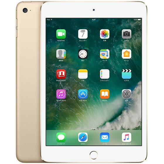 【新品】Apple(アップル) iPad mini 4 Wi-Fiモデル 32GB ゴールド 国内版 タブレット MNY32J/A