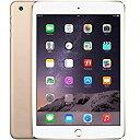 アップル iPad mini3 Wi-Fi + Cellularモデル A1600 16GB ゴールド ( MGYR2J/A ) 整備済品 タブレット SIMフリー Wi Fi セルラー LTE 本体 Apple