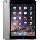【1/28まで 全品ポイント5倍】アップル iPad mini3 Wi-Fi + Cellularモデル A1600 64GB スペースグレイ ( MGJ02J/A ) 整備済品 タブレット SIMフリー Wi Fi セルラー LTE 本体 Apple