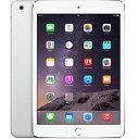 【1/28まで 全品ポイント5倍】アップル iPad mini3 Wi-Fi + Cellularモデル A1600 64GB シルバー ( MGJ12J/A ) 整備済品 タブレット SIMフリー Wi Fi セルラー LTE 本体 Apple
