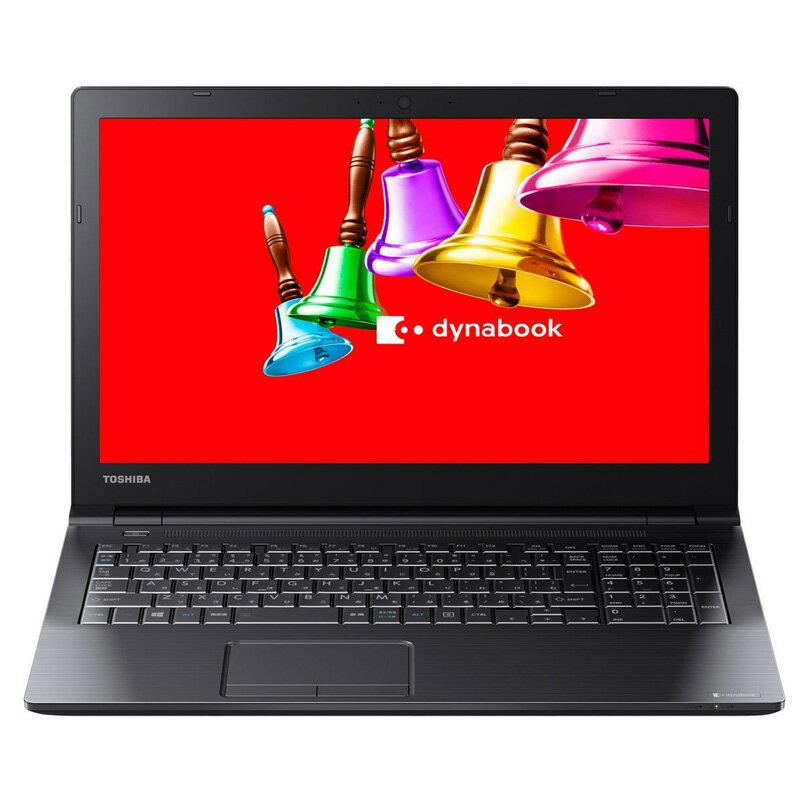 東芝 dynabook B25/31BB ( PB25-31BSKB ) Windows 10 15.6インチHD Celeron-3215U メモリ 4GB HDD 500GB DVDスーパーマルチ Office付き
