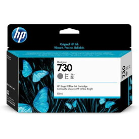 HP ( ヒューレットパッカード ) HP730 インクカートリッジ グレイ 130ml ( P2V66A )
