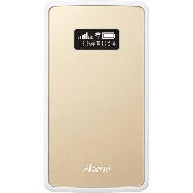 NEC Aterm MP02LN SIMフリー モバイル ルーター PA-MP02LN-CW 本体 ポケット WiFI ルーター シャンパンゴールド テレワーク 在宅勤務 在宅ワーク に