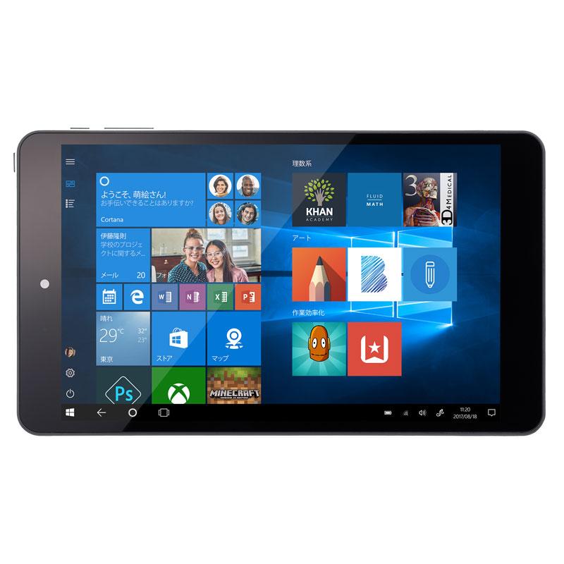 マウスコンピューター(モバイル) 8.0型 Windows10 Home搭載タブレット WN803 (Windows10Home/Atom x5-Z8350/2GB/32GB eMMC) 1807WN803