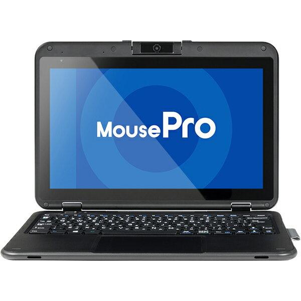 マウスコンピューター(モバイル) 11.6型 Windows10 Pro+M.2 SSD 2in1タブレット (Windows10Pro/Celeron N4100/256GB SSD(M.2)/4GB/eMMC64GB/堅強/10.6時間稼働/1年間ピックアップ保証) 1811MPro-P116B-MSD