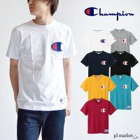 8%OFF◆チャンピオンTシャツロゴTCHAMPIONChampionロゴ刺繍Tシャツプルオーバー/C3-F362ロゴTロゴプリントT-シャツメンズトップスビックロゴ半袖TシャツCrewNeckS/SBigLogoT-Shirtユニセックス