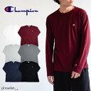 チャンピオン tシャツ champion tシャツ Champion C3-P401 CHAMPION BASIC オールラウンド・スポーツ/メンズ/ロコンド/ メンズ 長袖Tシャツ LONG SLEEVE T-SHIRT ロンT コットン100% ベーシックロンT チャンピオン tシャツ 長袖 C3-J424