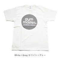 ジムマスターtシャツgymmastertg799301サークルロゴTロゴTT-shirtロゴプリントTフロッキープリントコットン綿マルチカラーカラフルシンプルベージックカジュアルアメカジ