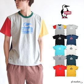 10%OFF CHUMS チャムス Tシャツ ブービーフェイスTシャツ Booby Face T-Shirt トップス Tシャツ メンズ レディース ユニセックス コットンT ロゴT 半袖 アウトドア スポーツ CH01-1325