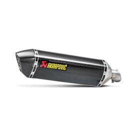 AKRAPOVIC (アクラポビッチ) スリップオンライン SV650 ABS マフラー カーボン JMCA対応 S-S6SO9-HRCJPP
