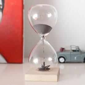 Magnetic Hourglassマグネティックアワーグラス砂鉄を用いた砂時計インテリア雑貨ギフト プレゼント不思議なアートKIKKERLAND / from U.S.A.キッカーランド