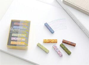 AOZORADot Musee Crayon[ドットミュゼクレヨン]印象派の画家「モネ」の絵画の色彩を混ぜ込んだクレヨン様々な色合いからなるモザイク状の美しいクレヨンギフト プレゼント