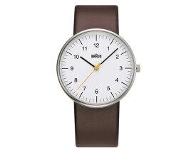 BRAUN ウォッチ BN0021 WHBRG腕時計ブラウンディーター・ラムスエンボス加工送料無料ギフト プレゼントバウハウス